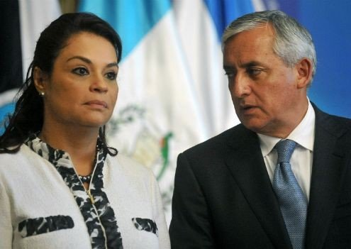 Pérez Molina y Baldetti
