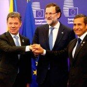 Santos, Rajoy y Umala