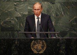 Vladimir Putin en la ONU