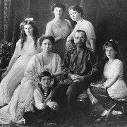 Zar Nicolás II y familia