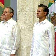 Raul Castro y EPN