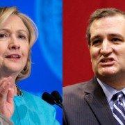 Clinton y Cruz