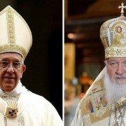 Papa Francisco y Patriarca Kiril