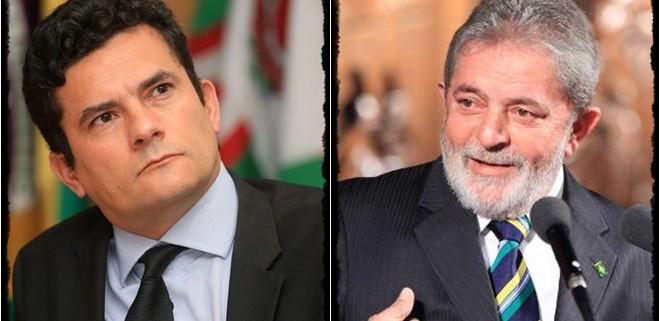 Moro y Lula