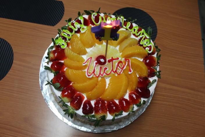 Cumpleaños de Victor